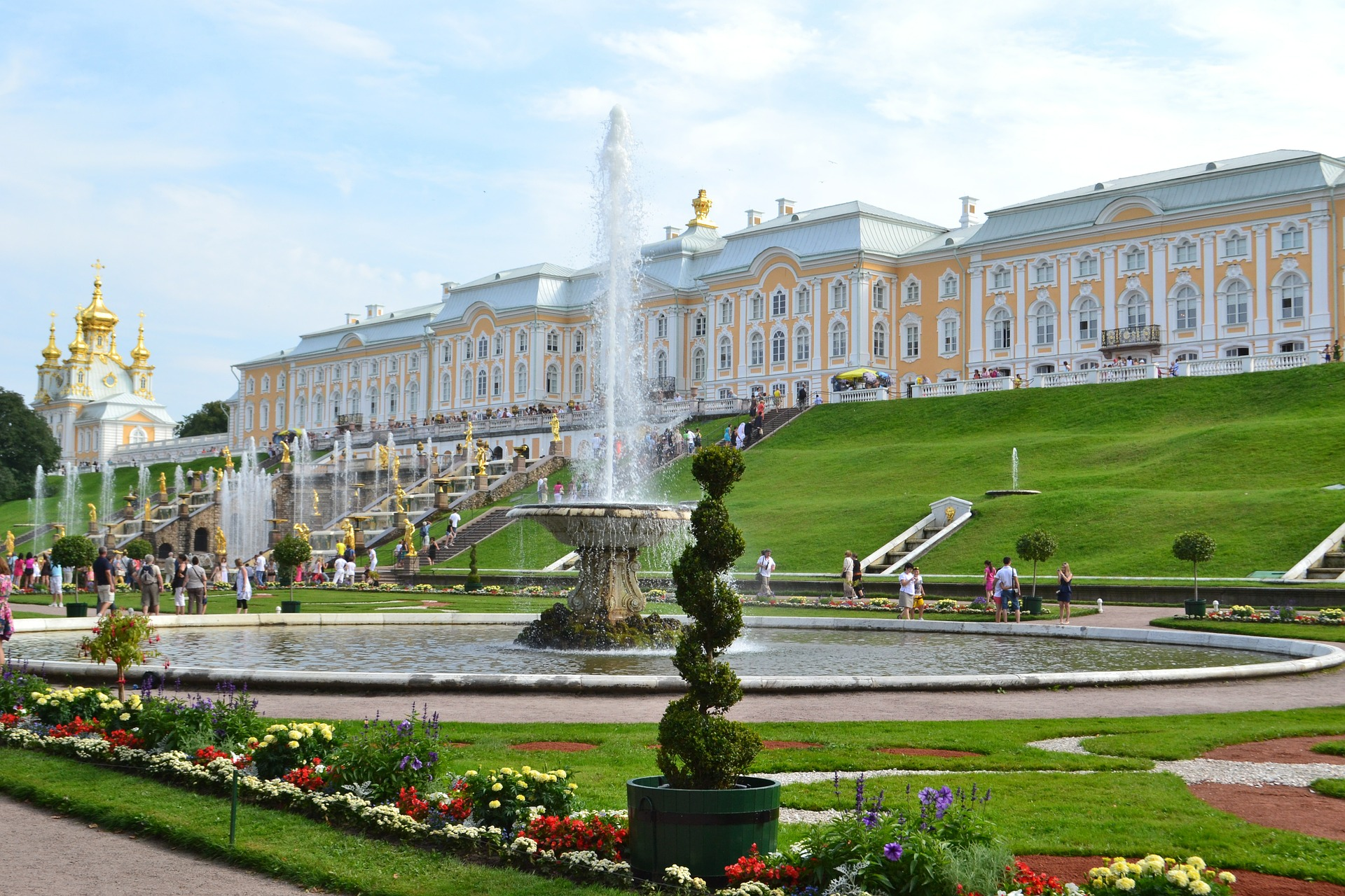 парк Петергоф