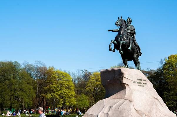 фото памятника медный всадник